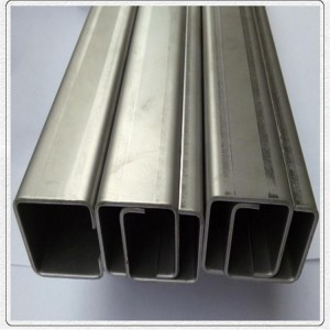 stainless steel decorative u channel decorative sheet metal panels