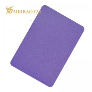 4*8 Feet Color Sandblast Stainless Steel Sheet For Decoration