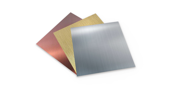 About decorative stainless steel plate surface polishing technology