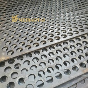 Round Stainless Steel Perforated Metal Sheet Used for Isolation