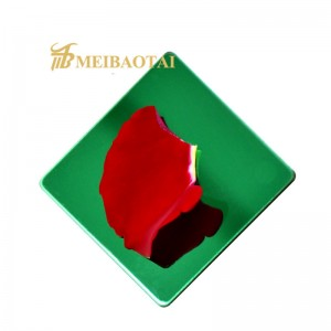 high quality grade 304  204  mirror color pvd color coating stainless steel sheet decorative plate