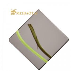Hot Sale Grade 304 Mirror  Industrial Stainless Steel Sheet