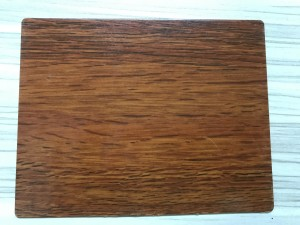 lamination wood grain stainless steel sheet decorative table