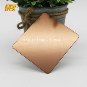 bronze  sheets decorative steel sheet for european door
