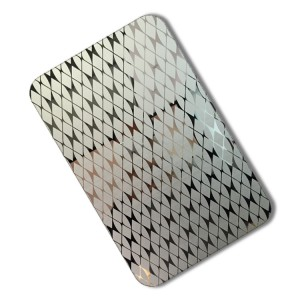 4*8  etched stainless steel sheet 201 304