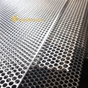 Grade 304 201 Perforated Sheet Stainless Steel Sheet For Decoration