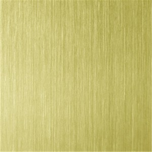 PVD Color Coating NO.4 Hairline Design Finish 201 Stainless Steel Sheet Decoration Sheet