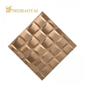 custom stamp mirror color pvd color coating stainless steel sheet  decoration wall/ktv/ ceiling