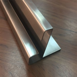 shaped u channel steel decorative sheet metal panels
