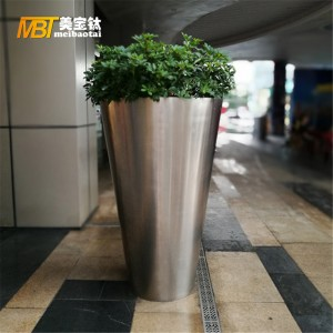 stainless steel sheet metal fabrication flower pot