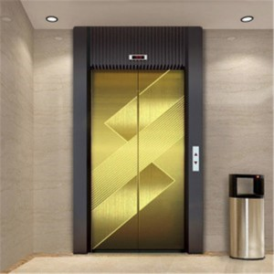 High Quality Export to Turkey PVD Gold Etching Elevator Plate 304 Stainless Steel Plate