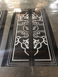 Factory Prices Etching Design Decoration Elevator Lift Plate 304 Stainless Steel Sheet