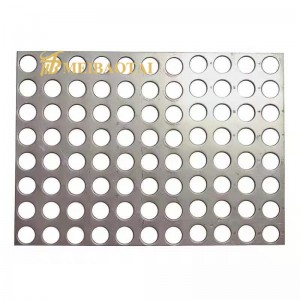 304 Stainless Steel Perforated Metal Sheet for Decoration