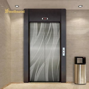 Super Mirror Etching Hairline Design Silver Elevator Lift Decorative Plate 201 Stainless Steel Sheet for Elevator