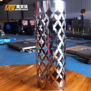 decorative laser cut screen divider stainless steel plate
