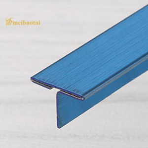 Blue Gold Rose Stainless Steel Corner Tile Trim