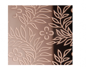 Custom etched pvd color coating stainless  steel  sheet  for decorate elevator