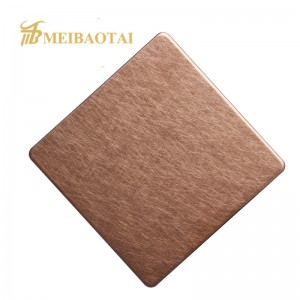 High Quality Grade 430 Steel Vibration Finish Stainless Steel Sheet