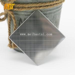 cross hairline stainless steel sheet