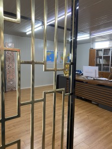 Restaurant Aluminum Partition Panel Room Divider