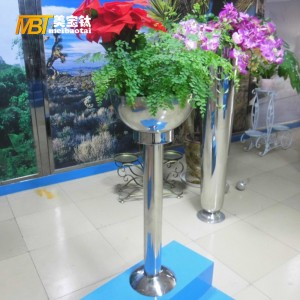 stainless steel metal fabrication pot