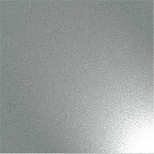 silver sandblasted inox