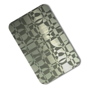 Etched Cold Rolled Stainless Steel Sheet\/plate