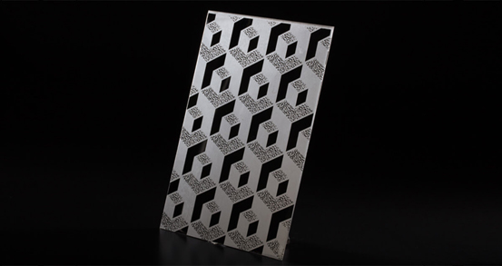 Process principle and process of etched stainless steel plate