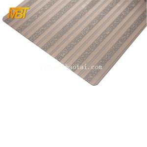 Bronze Color 201 3d wall plate decorative sheets