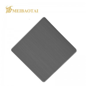 Grade 304 316 201 4*8Feet Hairline Brushed Stainless Steel Sheet