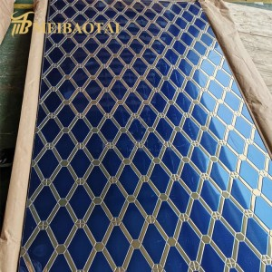 stamped decorative stainless steel sheet for 304 stainless steel door cabinet