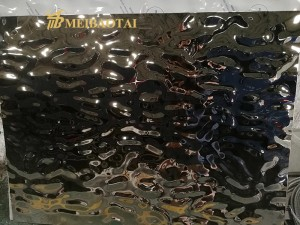 stamped finish decorative 3d wall panels 304 stainless steel price per kg