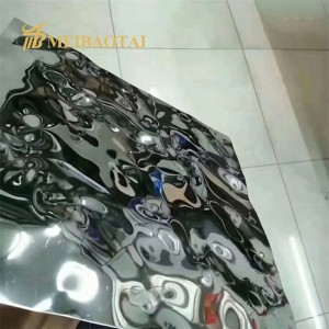 Grade 201 304 Stamped Stainless Steel Sheets for KTV Decoration