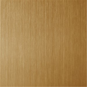 hairline stainless steel red bronze sheets