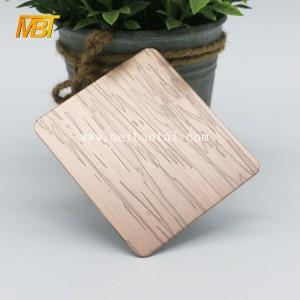 bronze decorative stainless steel sheet