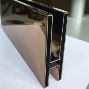 stainless steel channel shaped decorative sheet metal panels