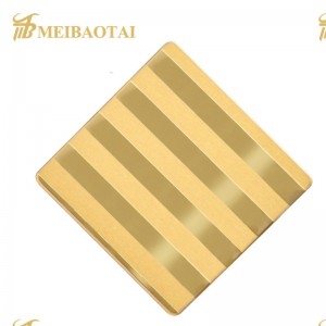 Hot Sell Factory Price 201 304 430 316L Etch Stainless Steel Sheet for Decorative Elevator and Lift