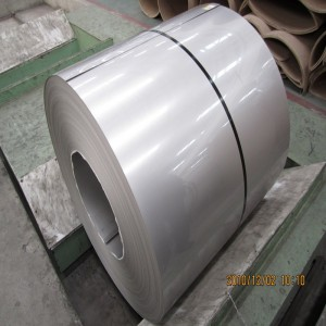 AISI 201 304 2B cold rolled stainless steel coil price